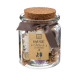 pot pourri jar pm parche 70g, marrón