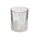iris glass photophore + microbeads pm
