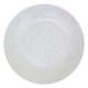 assiette plate cluster blanc 27cm, blanc