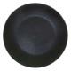 assiette plate cluster noir 27cm, noir