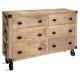 6-drawer sideboard silas, sand