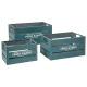 cajón cajón azul x3 mercado, azul