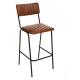 bar chair cognac dario, cognac