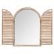 spiegelhouten sluiter 74x104 nat, medium beige