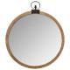 houten spiegelvouw d74, bruin