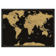 världens skrapkort 82x59, 2- times assorted , svar