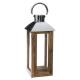 lanterne manguier inox h50, beige moyen