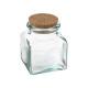 gerecycleerde glazen pot 250ml, transparant
