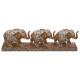 olifant deco hars x3 l46, bruin