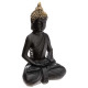 sitting Buddha black / gold h39,5, black