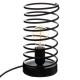 metal lamp h22 yufu, black