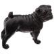 black h19 resin dog, black