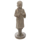 standing Buddha resin h61, colorless