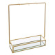 metal jewelry holder + glass archi, 2- times assor