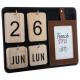 ac kalender Frans frame, geassorteerde kleuren