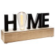 word deco led home, black