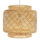 suspension bamb liby naturel d40, beige