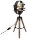 holz / metall lampe fibi h54, mehrfarbig