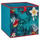Aufbewahrungsbox 31x31 tropisch para, 2-fach sorti