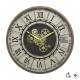 reloj de metal meca d57 stella, marrón