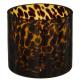 dierenkandelaar massief amber d12 h11, bruin