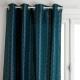 jacq lurx art gordijn ca140x260, duck blue