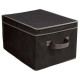 storage box, eg black