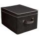 caja de almacenamiento, por ejemplo, negro
