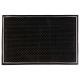 kunststof deurmat 60x40, zwart