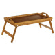 small bamboo tray 51x38, beige