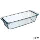 glazen taartschotel 31x12cm, transparant