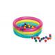 piscine a balles 86 x 25 cm, multicolore