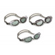 swimming glasses water pro, 3- times assorted , mu