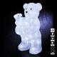 kültéri világítás anya + baba medve 56led