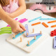 Wooden Set for Making Letters and Numbers Koogame