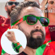 Sunfold World Cup Portugal Roll-Up Sunglasses