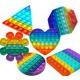 Pop It Push Game Rainbow