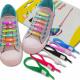 Cordones de los zapatos de silicona