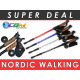 Stick, Nordic Walking poles, cork handle