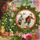 Napkin Vintage Winter Christmas