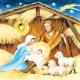 Napkin Holy Family