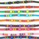 bracelet macramé modèle de couleur enfant donné