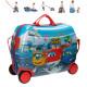 Reisekoffer / Sitz-Trolley - Super Wings ABS