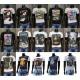 100x Modische Herren T-Shirts mit Motiv Restposten