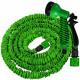 Flexible garden hose 23 meters with spray gun
