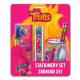 Stationery Set + Pot pencils Garni TROLLS