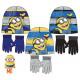 Zestaw czapka + rękawiczki Minyonok Kids