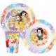 Disney Princess dinnerware, micro plastic set