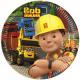 Bob the Builder , Bob, the master Paper Plate 8pcs