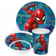 Spiderman tableware, melamine set